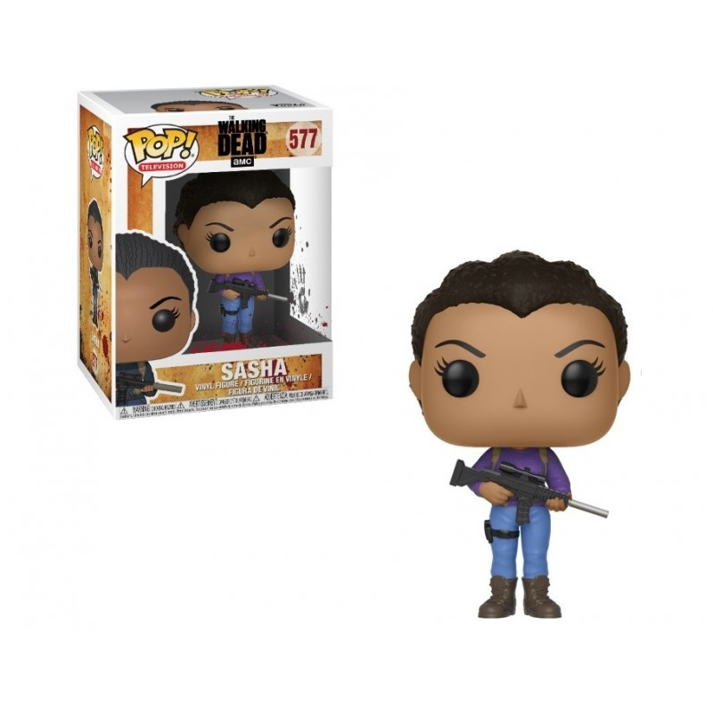 Sasha (The Walking Dead) POP 577
