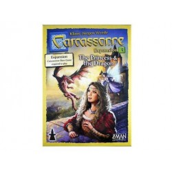 Carcassonne - Princesse & Dragon - Extension 3